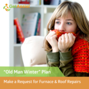 make a request for winter repairs