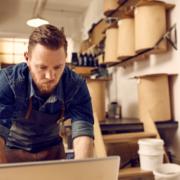 overworked entrepreneur