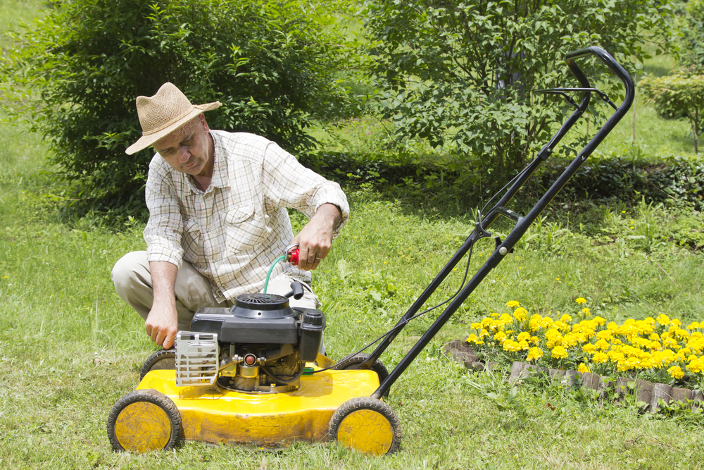 spring lawn mower maintenance